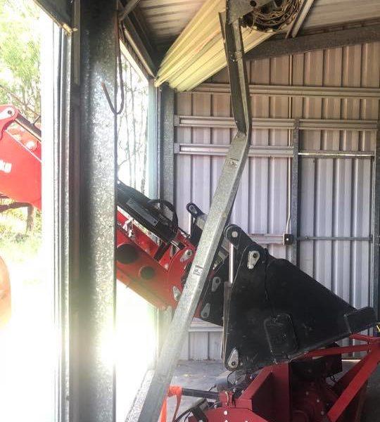 Broken Garage Door