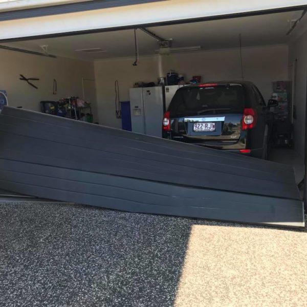 Broken Sectional Garage Door Repairs Brisbane